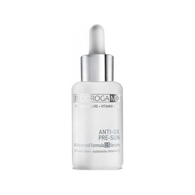 Serum antyoksydacyjne zapobiegające starzeniu się skóry w wyniku promieniowania UV