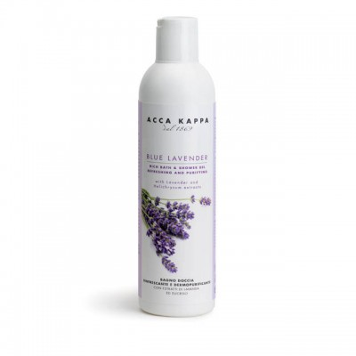 Blue Lavender - Bath foam & shower gel