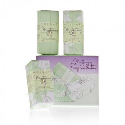 Kolekcja mydeł o aromacie figi i różowego cedru