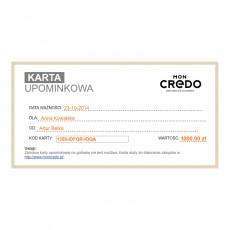 Wirtualna karta upominkowa o wartości 1000 zł