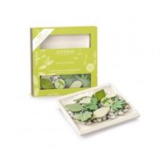 Pachnący ceramiczny zestaw dekoracyjny - Sous les feuilles