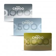 Klasyczna karta upominkowa do wykorzystania w salonach i sklepie online